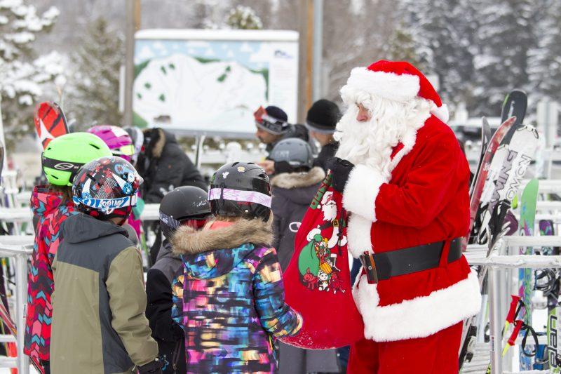 Santa at Snow Valley