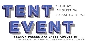 9th Annual Tent Event