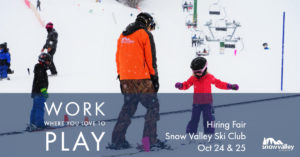 Hiring Fair @ Snow Valley Ski Club | Edmonton | Alberta | Canada