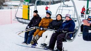 First Chair Kicks Off Ski and Snowboard Season